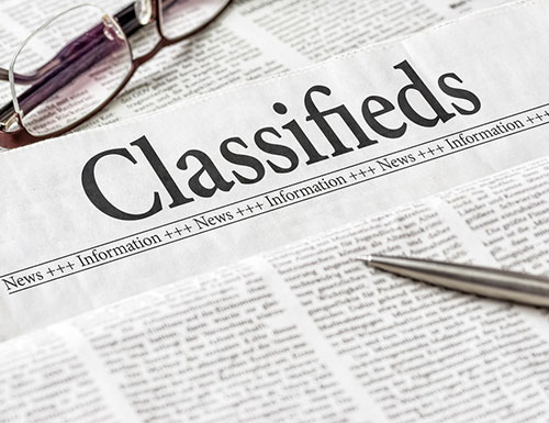 Vanner Classifieds