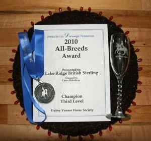 USDF All Breeds Award